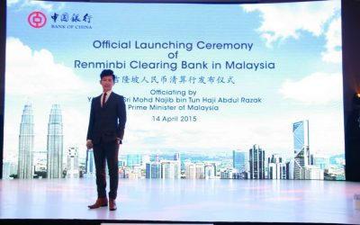 Bank of China Official Launching Ceremony of Renminbi Clearing Bank in Malaysia