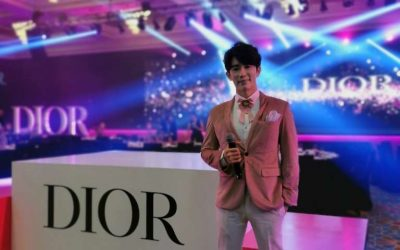 BE DIOR BE PINK 2019 Travel Retail Asia Pacific Beauty Consultant Seminar Gala Dinner