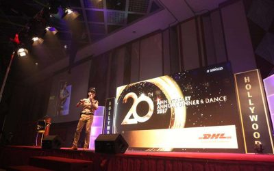 DHL Service 20th Anniversary Annual Dinner – Dance – Bollywood Theme