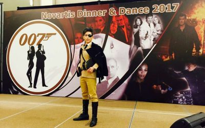 Novartis Dinner – Dance – James Bond Night