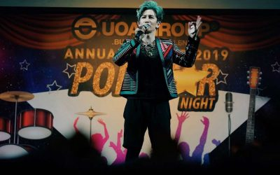UOA Group Pop Star Night Annual Dinner