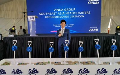 Vinda Group Southeast Asia Headquarters Groundbreaking Ceremony