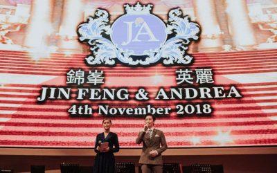Wedding Reception of Jin Feng & Andrea – St Regis Kuala Lumpur