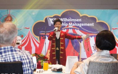 Wilhelmsen Ship Management (WSM) Circus Annual Dinner