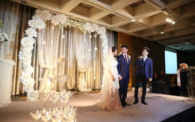 Wedding Reception of Marjory & Vincent – Regent Singapore