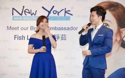 Official Launch of New York Skin Solutions Ambassador – Fish Leong