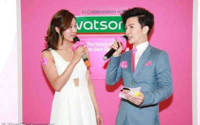 26 Linda Chung 鍾嘉欣 – The Launch of Bio-Essence Tanaka White, In Collaboration with Watson