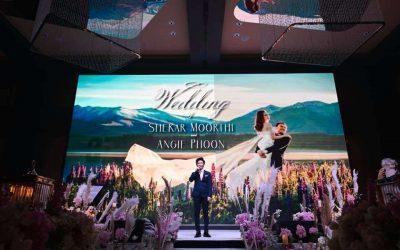 Wedding Reception of Shekar & Angie – W Kuala Lumpur