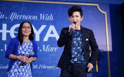 15 Sheila Majid – Official Launch of HOYA Brand Ambassador