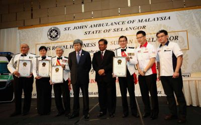 02 His Royal Highness Sultan of Selangor – Launch of First Bariatric Ambulance