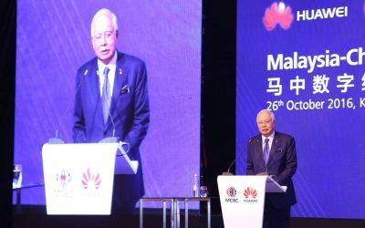 09 YB Dato' Sri Najib Tun Razak Malaysia – China Digital Forum